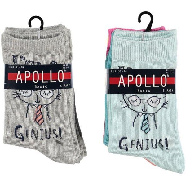 Leuke meisjes sokken 5 pack